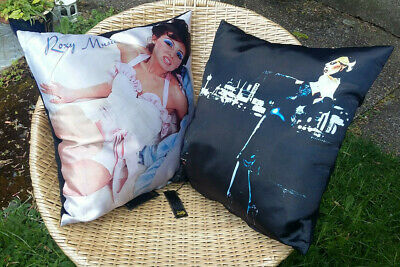 2 X Official ROXY MUSIC Cushions NEW & SEALED Bryan Ferry  • 30£