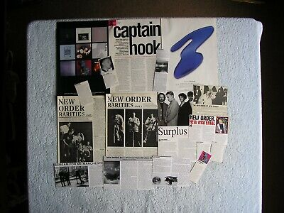 New Order - Magazine Cuttings Collection - Photos, Clippings, Articles X17. • 2.94£