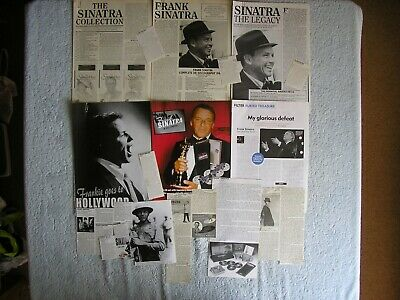 Frank Sinatra - Magazine Cuttings Collection - Photos, Clippings, Articles X16 • 2.94£