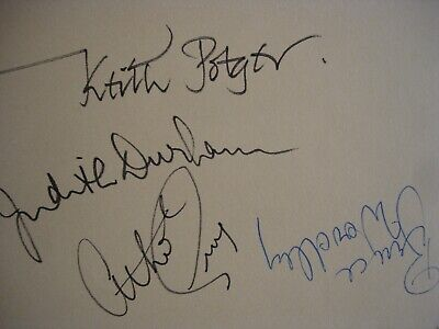 The Seekers Autographs Original Full Set • 45£