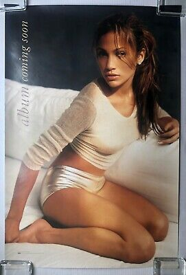 JENNIFER LOPEZ  Album Coming Soon  On The 6 DOUBLE SIDED 1999 PROMO POSTER JLO • 42.11£
