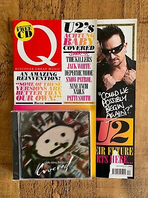 Q Magazine U2 Achtung Baby Covered. Sealed. Mint • 20£
