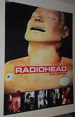 RADIOHEAD ORIGINAL PROMO ONLY POSTER   THE BENDS   THOM YORKE 1995 ' Last One ' • 30.24£