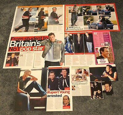 WILL YOUNG Magazine Cuttings • 9.99£