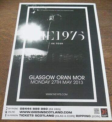 The 1975 - Live Music Show May 2013 Promotional Tour Concert Gig Poster • 4.99£