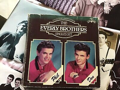 The Singles Set Everly Brothers UK 7  Box Set15 X 7  Singles. • 25£