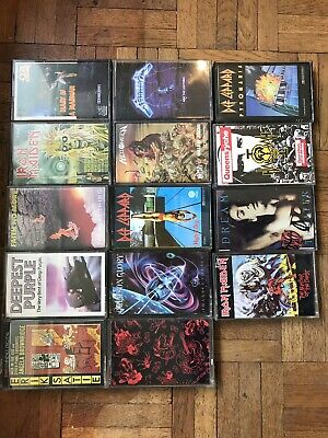 Job Lot Vintage Cassettes Def Leppard / Iron Maiden / Deepest Purple And More • 120£