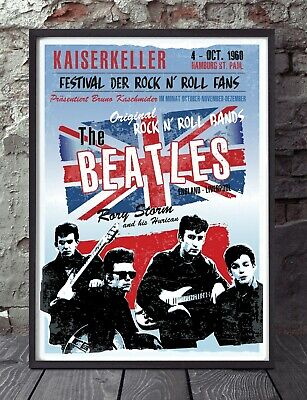 The Beatles Inspired Poster.  • 6£