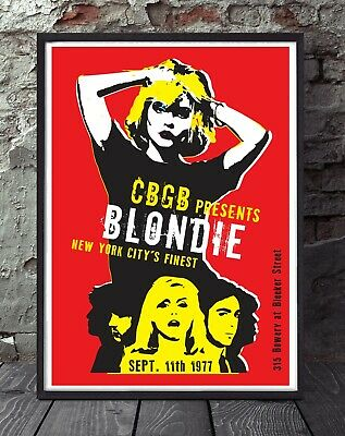 Blondie Inspired Poster.  • 6£