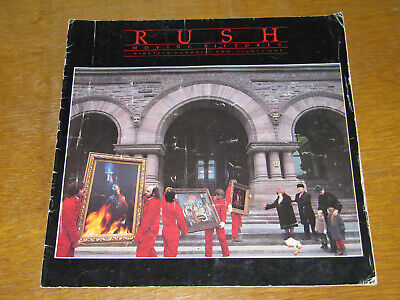 Rush - Moving Pictures - 1980 Official Tour Programme   (promo) • 9.99£