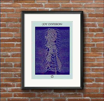 JOY DIVISION, IAN CURTIS, Exclusive Promo Print / Poster, Factory Records • 12.95£