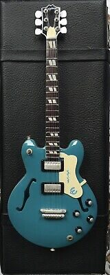 Oasis Epiphone Supernova Replica Miniature Collectors Guitar And Case Pre Owned • 19.99£