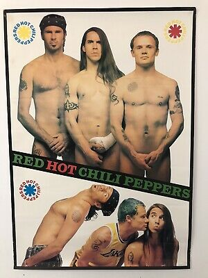 Red Hot Chili Peppers Vintage Rare Poster  • 24.95£