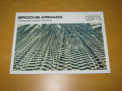 Groove Armada - If Everybody Looked The Same - Promo Postcard  • 4.99£