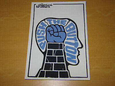 The Chemical Brothers - Push The Button - Promo Postcard - • 4.99£