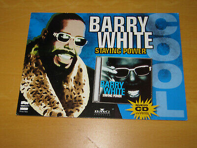 Barry White - Staying Power - Promo Postcard  • 4.99£