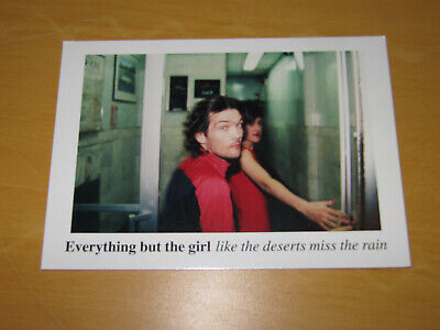Everything But The Girl - Promo Postcard  • 4.99£