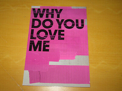 Garbage - Why Do You Love Me - Promo Postcard  • 4.99£