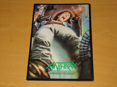 Anthrax - Spreading The Disease - Vintage Postcard                       (promo) • 4.99£