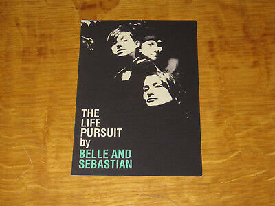 Belle And Sebastian -the Life Pursuit / Funny Little Frog Promo Postcard / Flyer • 4.99£