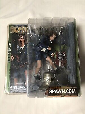Ac/dc McFarlane For Those About To Rock Angus Young Action Figure Very Rare  • 45£