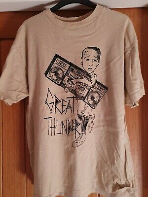 Great Thunder Tshirt Medium Waxahatchee Free Uk Postage • 6£