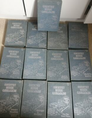 Country Music Cavalcade 8 Track Set Of 13 Double Cassettes • 25£