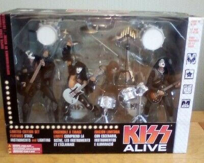 Kiss Alive Figures Limited Edition Stage Set (never Opened) • 120£