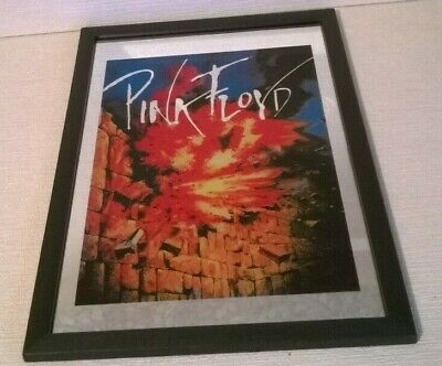 Framed Illustrated Wall Mirror Pink Floyd The Wall  P1062 • 10.95£