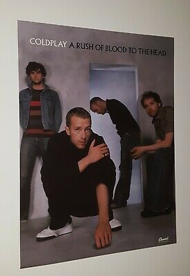 Coldplay  A Rush Of Blood To The Head  Promotional Only Double Sided  Poster   • 11.97£
