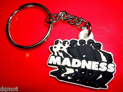 MADNESS - SMALL EMBOSSED RUBBER KEYRING - Suggs Ska Two 2 Tone Mod Stiff Lp Cd • 7.50£