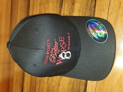 Tyler Perry For Better Or Worse Season 2 Flex Fitted Cast Crew Hat • 23.94£