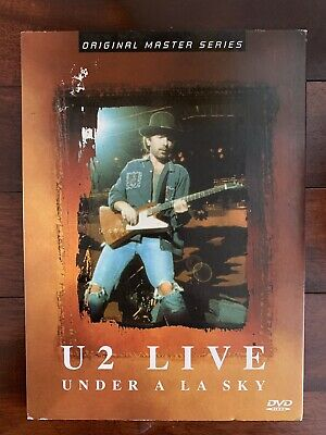 U2 Live Under An LA Sky Joshua Tree Tour 1987  • 15£