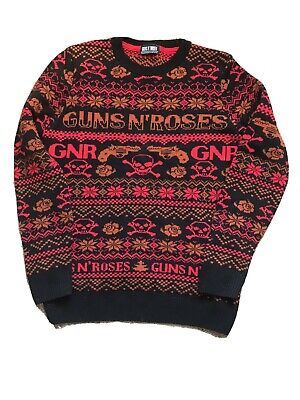 "Official Merchandise Guns N Roses Sweater Medium 40"" • 20£"