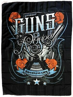 GUNS N'ROSES 'Reckless Life' Printed Textile Poster * Officially Licensed * • 4.95£
