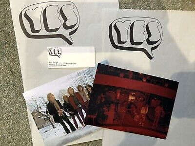 Yes 1969 Headed Paper And Business Card And Two Colour Photos  • 20£