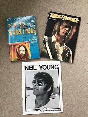 Neil Young 3 Book Collection - Vintage Music Memorabilia  • 4£