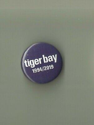 Saint Etienne - Tiger Bay 25th Anniversary Tour 1994/2019 Blue 1-inch Pin Badge • 0.99£