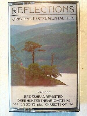 Reflections Original Instrumental Hits Compilation Cassette Tape, Good Condition • 4£