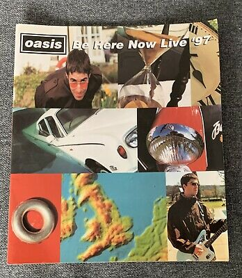 Oasis - Be Here Now Live 97 - Tour Progamme 1997 - RARE - Great Condition • 5£