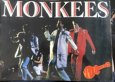 The Monkees Concert Programme 1989 • 2.99£
