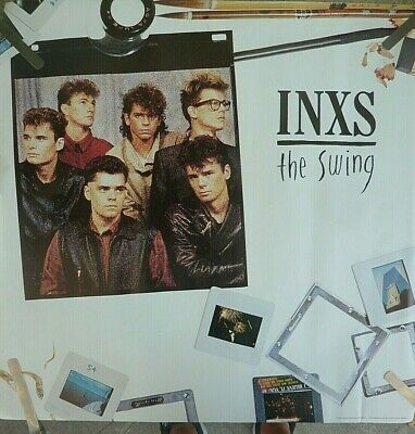 Rare Inxs The Swing 1984 Vintage Original  Music Store Promo Poster • 25.92£