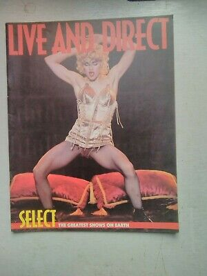Live And Direct Magazine  Madonna Cover   1990 • 3.99£