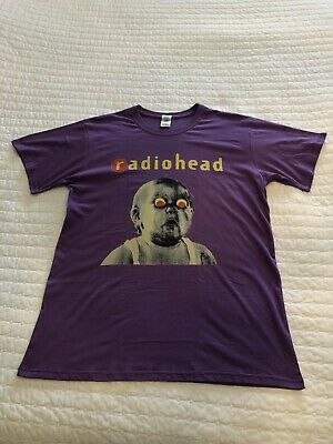 1993 Radiohead Pablo Honey Tour T Shirt Large Immaculate • 49.99£
