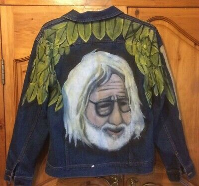 Grateful Dead Jerry Garcia Caricature Jacket FREE SHIPPING • 107.29£