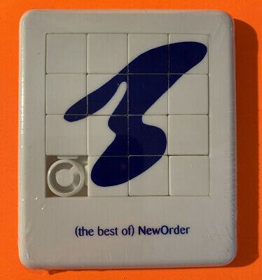 NEW ORDER - Rare 1994 UK Promotional-only 3½  X 3  Sliding Tile Puzzle • 24.99£