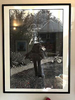 Framed Mick Rock Picture Of Syd Barrett Of Pink Floyd From 1971 • 65£