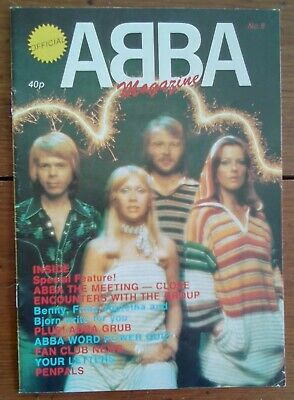 Official Abba Magazine 8, 1978, Great Condition • 9.99£