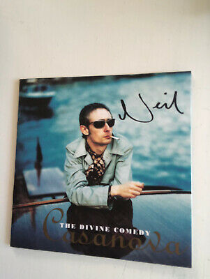 The Divine Comedy Casanova  Cd Inlay Signed By Neil Hannon • 25£