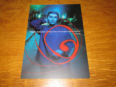 Robbie Robertson - Contact From The Underworld Of Redboy - Promo Dealer Flyer • 4.99£